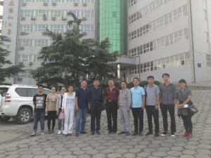 国家农业部,河南省农业厅,市农业局,来企业检查指导
